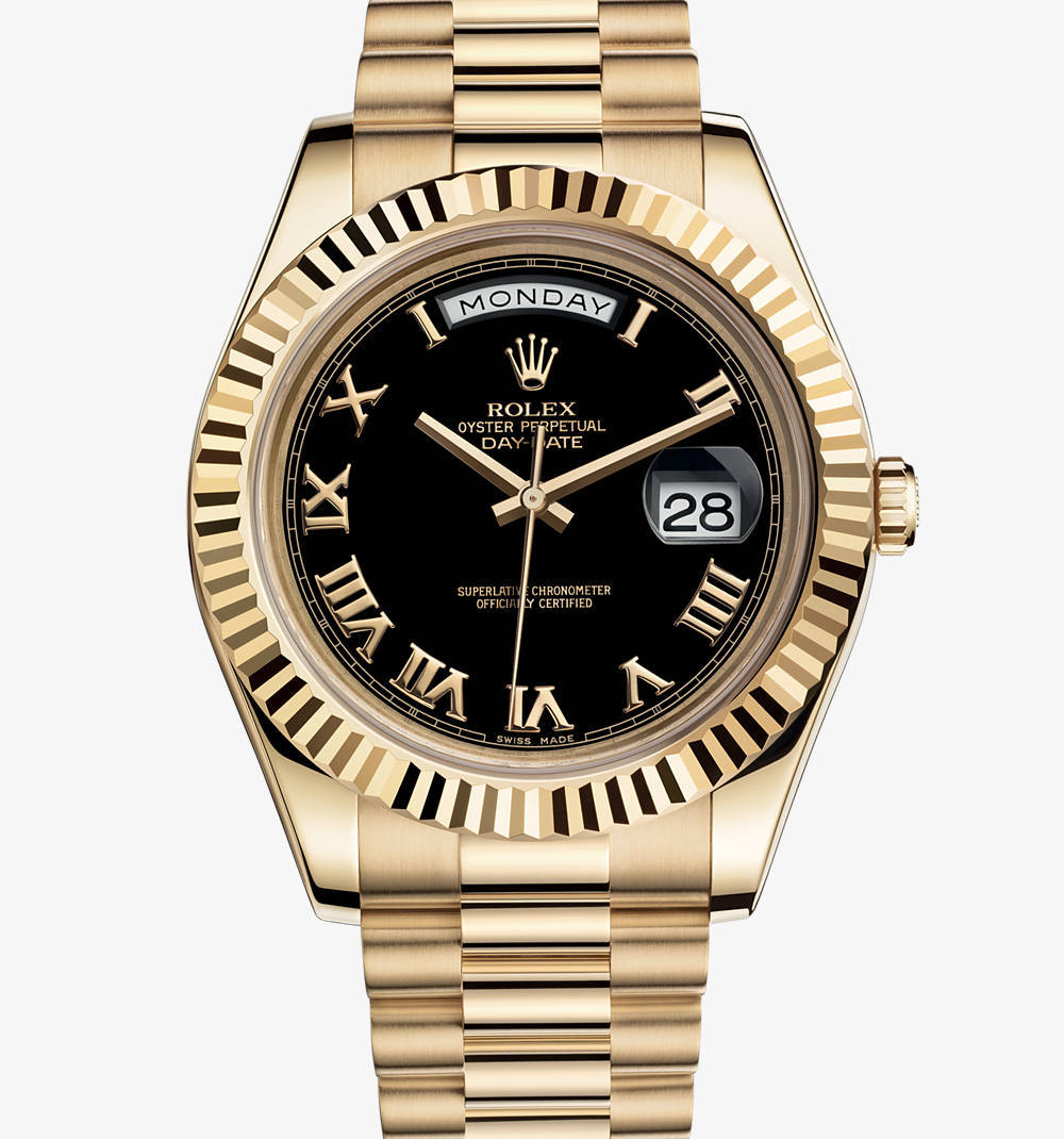 Rolex Miyota Gold Plated